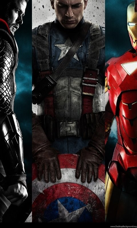 Wallpapers Iron Man Thor Hulk The Avengers Captain America