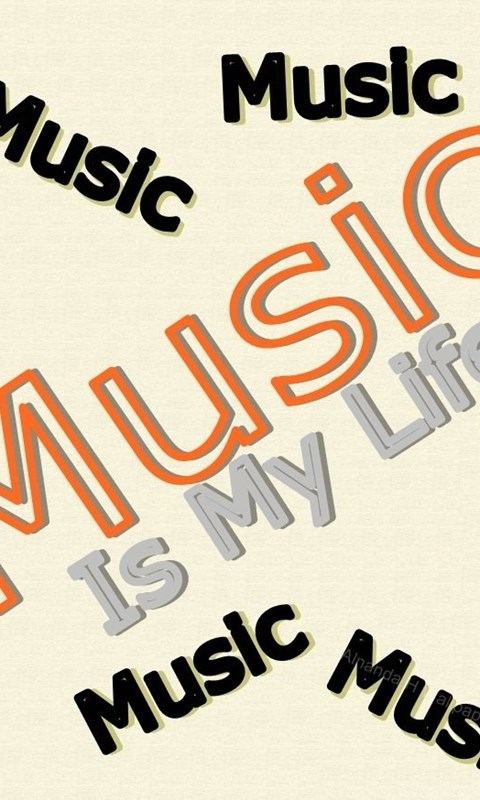 Download The Music Is My Life Wallpaper Music Is My Life Iphone