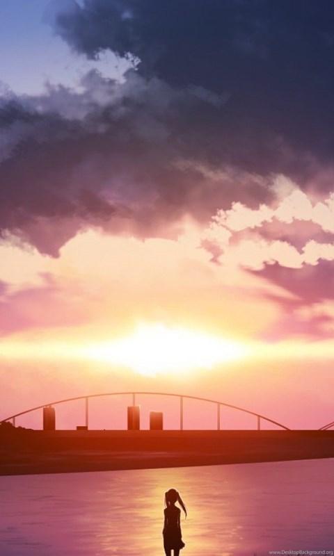 Anime Scenery Wallpaper Backgrounds Desktop Background