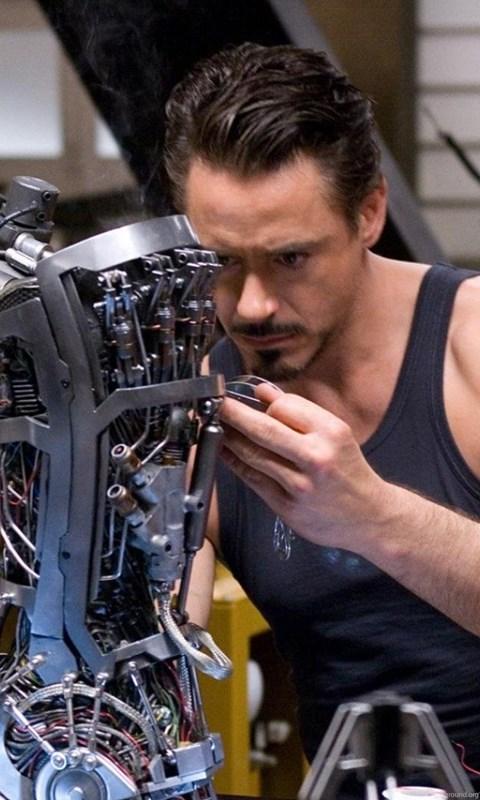 Iron Man Robert Downey Jr Tony Stark Robots Hand Movies Hd