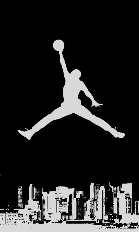 Michael Jordan Logo Wallpapers Wallpapers Cave Desktop