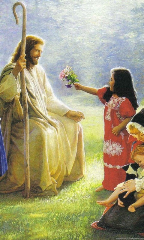 Free images of jesus with children wallpapers hd fine - Child jesus images download ...