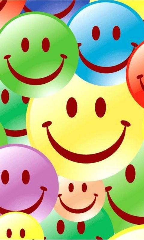 colourful smileys wallpaper desktop background