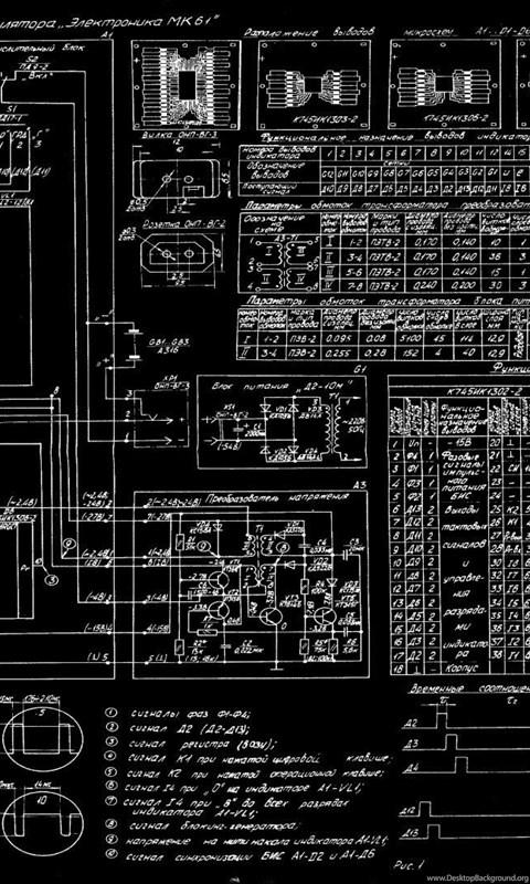 Diagram Blueprint Bw Russian Schematic Wallpapers Desktop