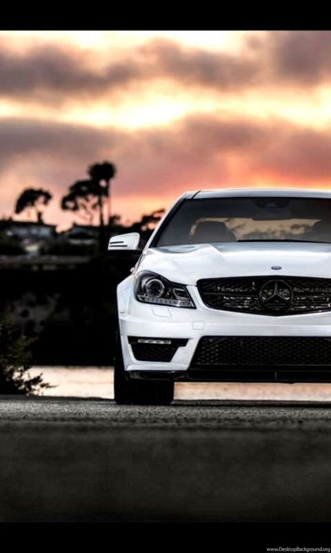 Mercedes Benz C63 Amg Night Hd Wallpapers Desktop Background