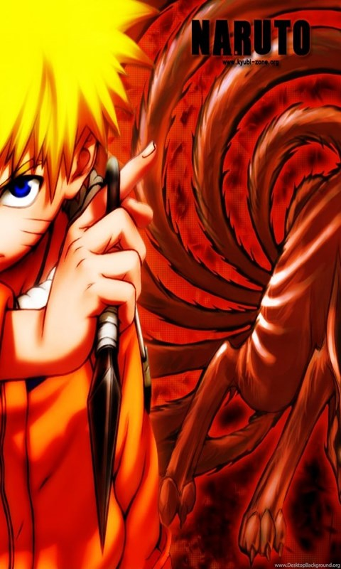 Wallpapers Naruto Kyubi Desktop Background Android Wallpaper Keren