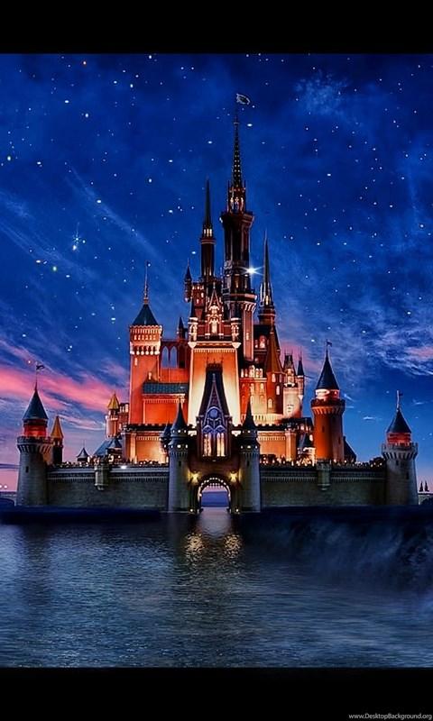 Disney Castle Wallpapers For Iphone Desktop Background