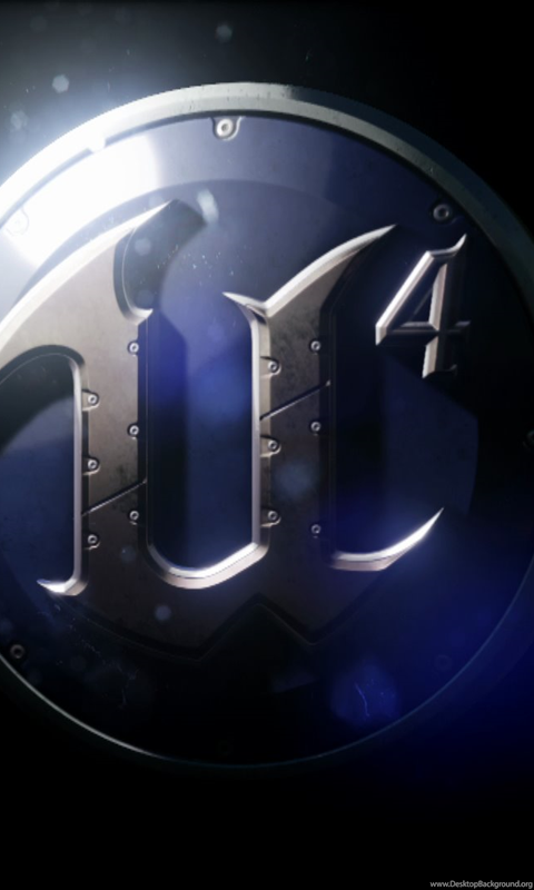 Unreal Engine 4 Logo Wallpaper  Desktop Background