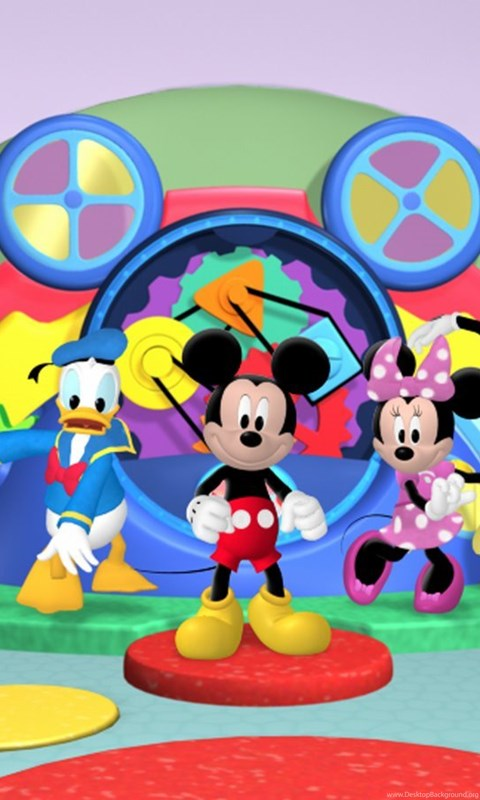 Mickey mouse clubhouse wallpapers hd backgrounds hd - Mickey mouse hd wallpaper 1366x768 ...