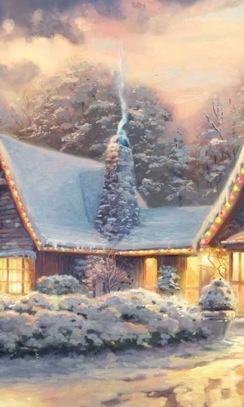 android - Christmas Lodge