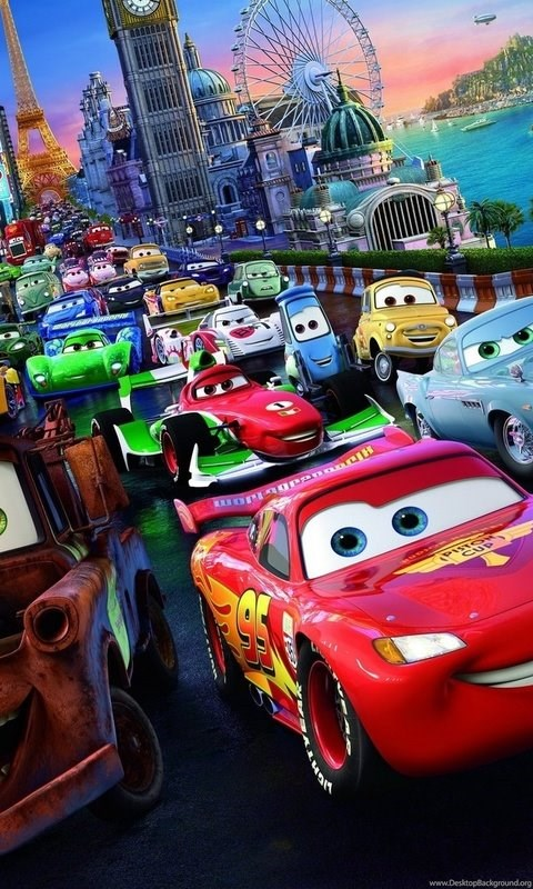 Cars 2 Movie Characters Hd Wallpapers Desktop Background