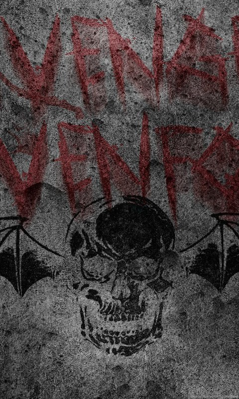 Avenged sevenfold logo wallpapers wallpapers zone desktop background android voltagebd Gallery