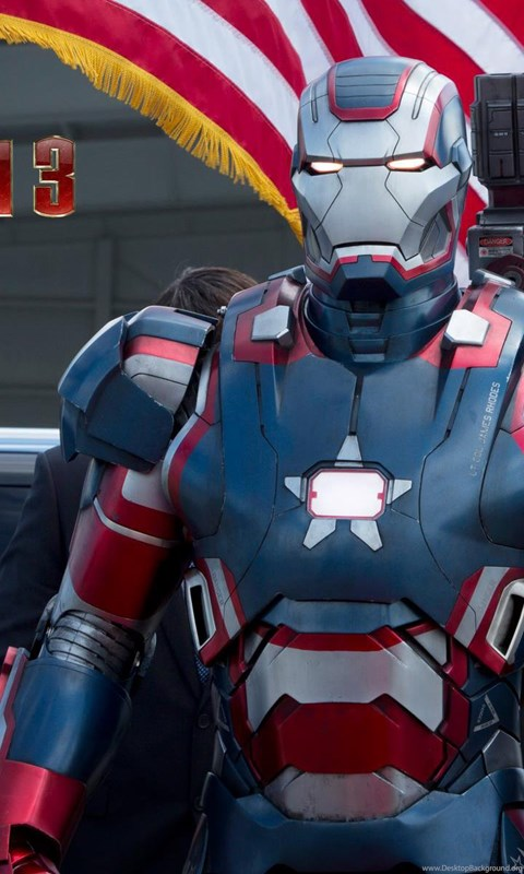 Iron Patriot Armor In Iron Man 3 Hd Wallpapers Ihd Wallpapers