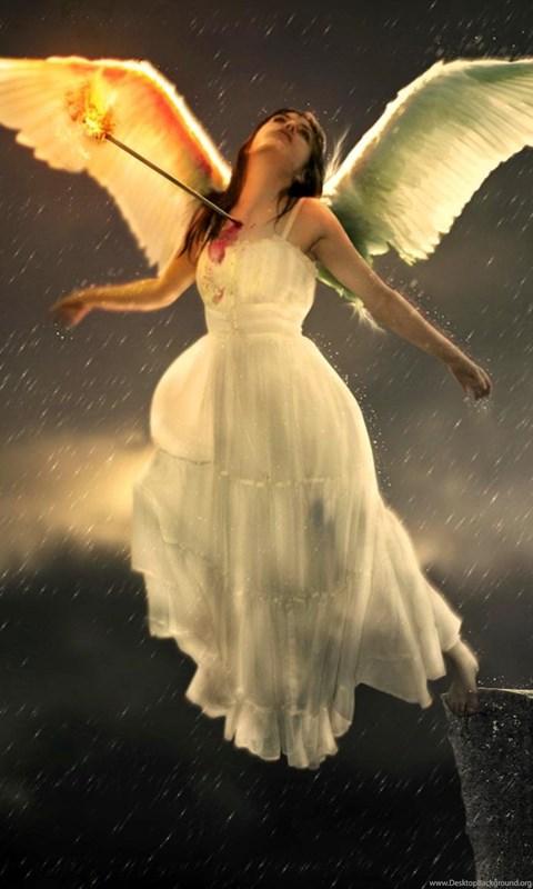 Sad angel wallpaper white dressed hd wallpaper darkness hd desktop background - Sad angel wallpaper ...