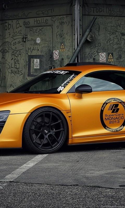 941101 high resolution sports car orange audi r8 wallpapers hd 9 full