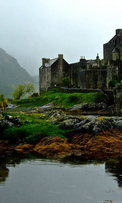 Scottish Castle Hd Wallpapers 7 - Landscape Wallpapers