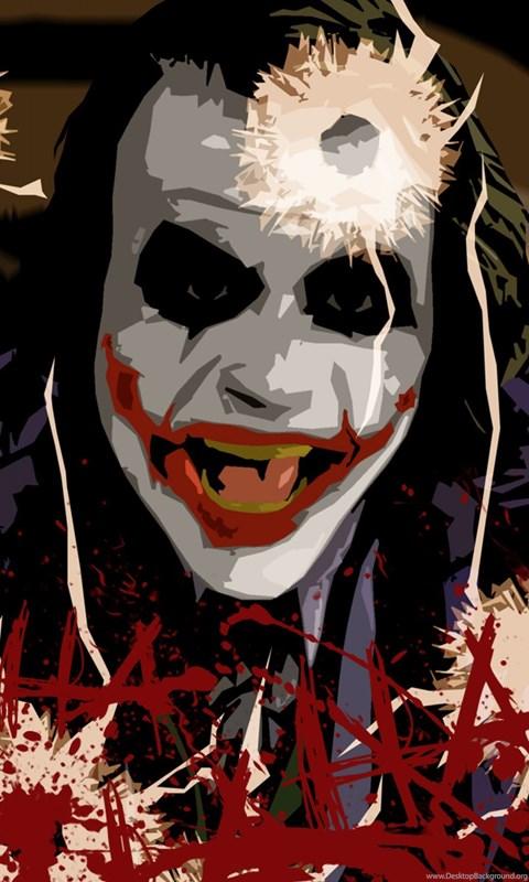 Heath Ledger Joker Iphone Wallpapers Desktop Background