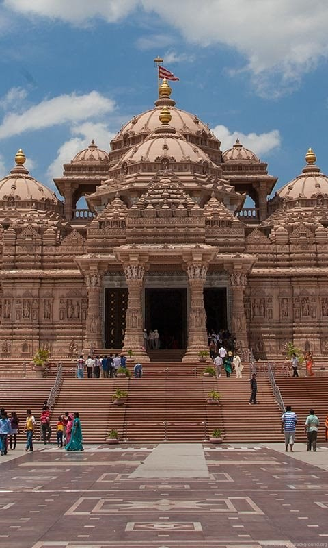 Mandir swaminarayan akshardham new delhi desktop background android thecheapjerseys Choice Image