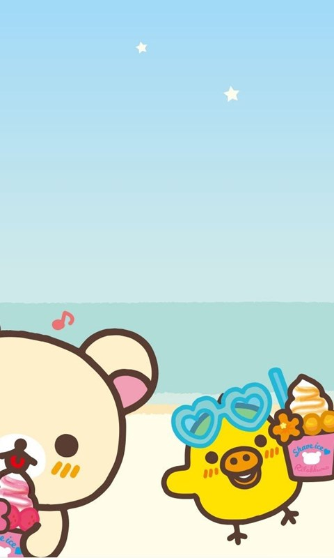 Beach Rilakkuma Wallpapers Desktop Background
