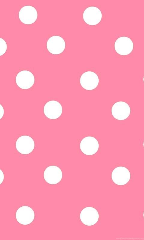pink-polka-dot-background
