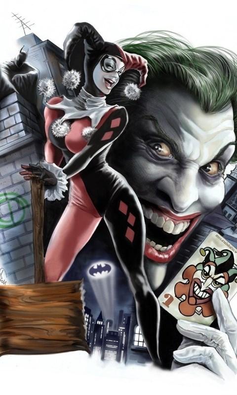 Harley Quinn Batman Joker Dc Comics Digital Art Wallpapers Hd