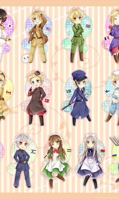Chibi nations hetalia wallpapers desktop background android voltagebd Choice Image