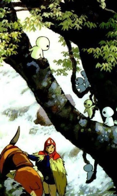 Ashitaka Kodama Princess Mononoke Cartoons Wallpapers Desktop