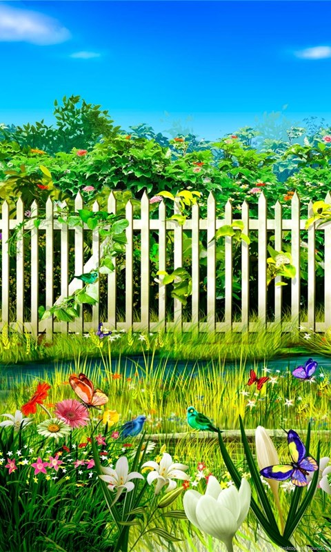 Flower Garden Wallpapers Free Download HD Base Desktop