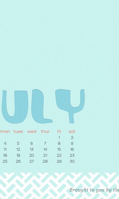 Fun Freebies: July Wallpaper! WeddingWire: The Blog Desktop Background