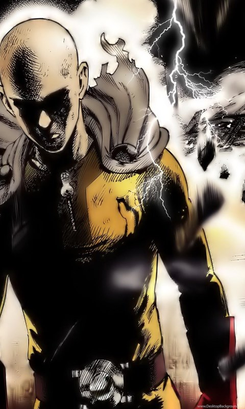 16 Quality One Punch Man Wallpapers Anime Manga Desktop Background
