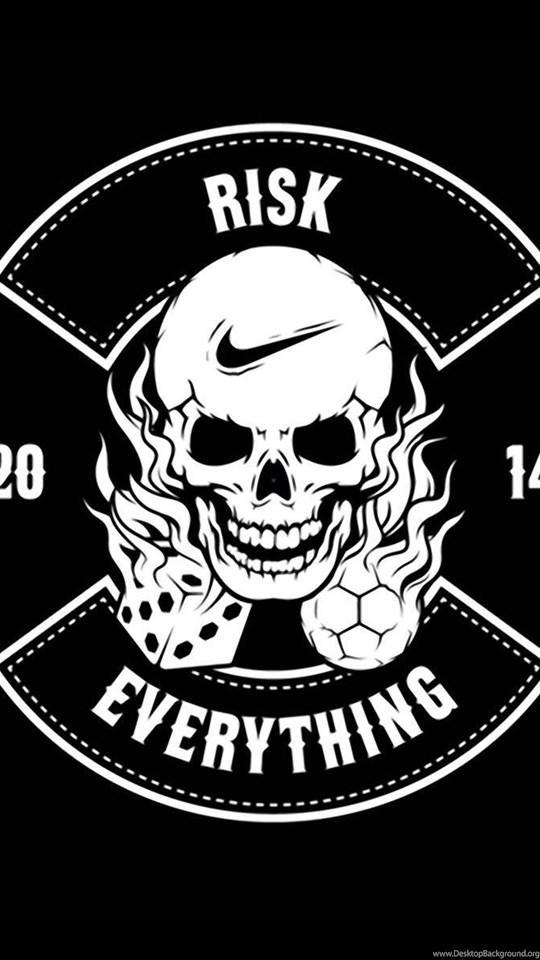 Nike Football Risk Everything Logo 2014 Hd Wallpaper Jpg Desktop