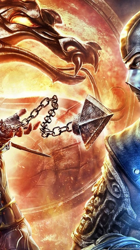 Mortal Kombat Scorpion Vs Sub Zero Wallpaper Desktop Background