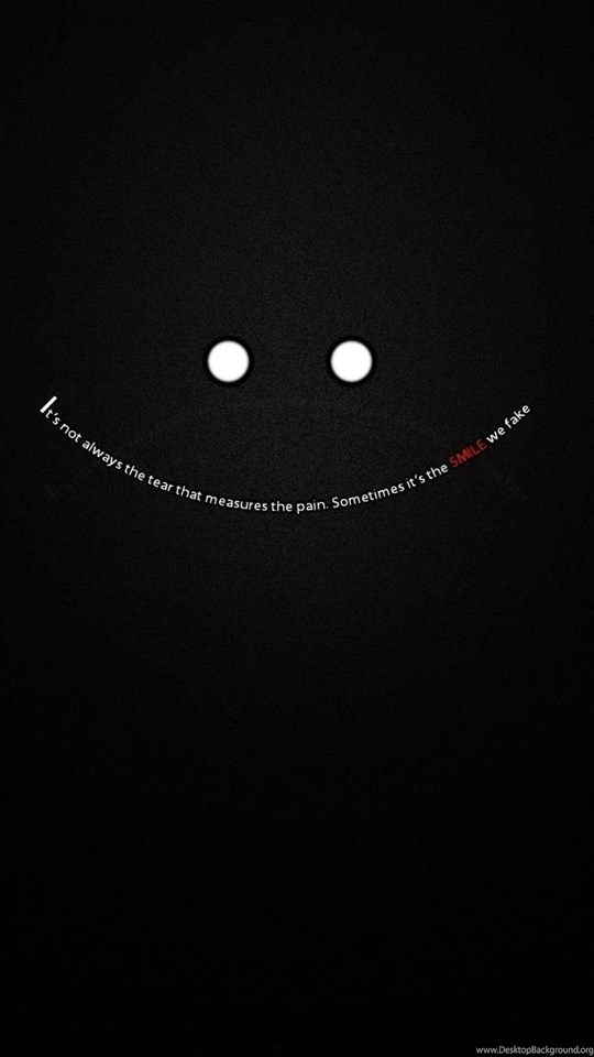 Black Quotes Typography Textures 3d Abstract Smiles D Hd