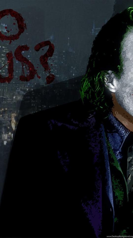 Joker Wallpapers Why So Serious Dark Knight 586 Desktop Background