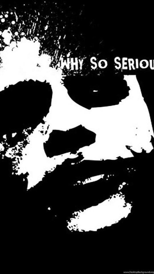 Batman The Joker Why So Serious Hd Wallpapers Desktop Background