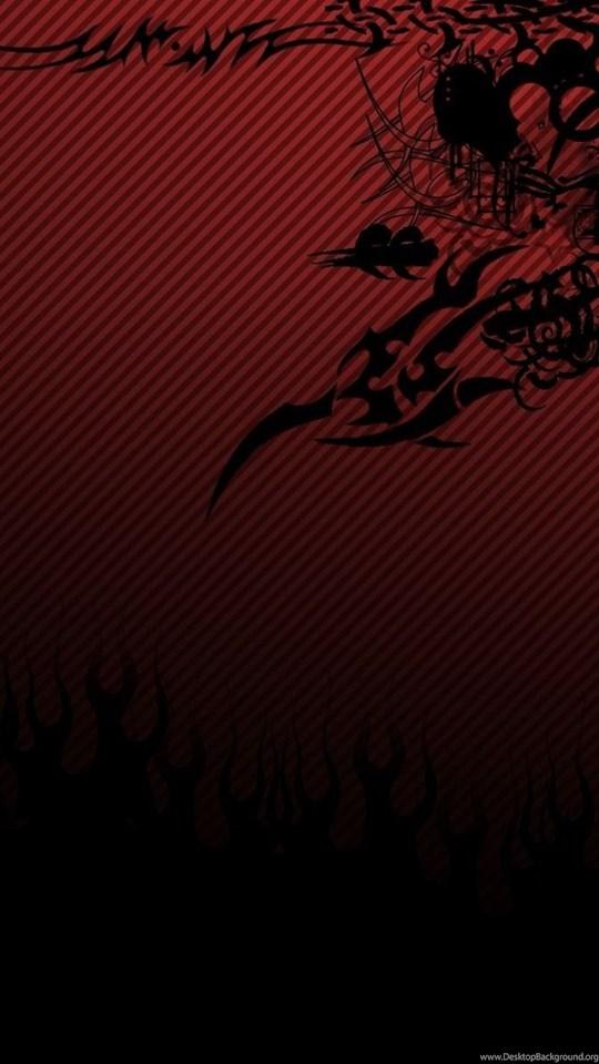Black Red Wallpapers By V1n3 On Deviantart Desktop Background