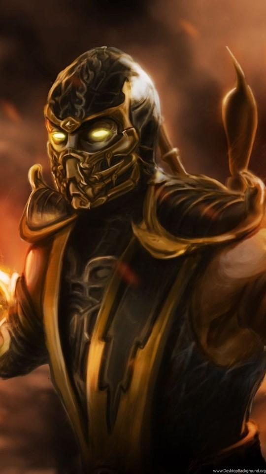 Scorpion Mortal Kombat Wallpapers Desktop Background