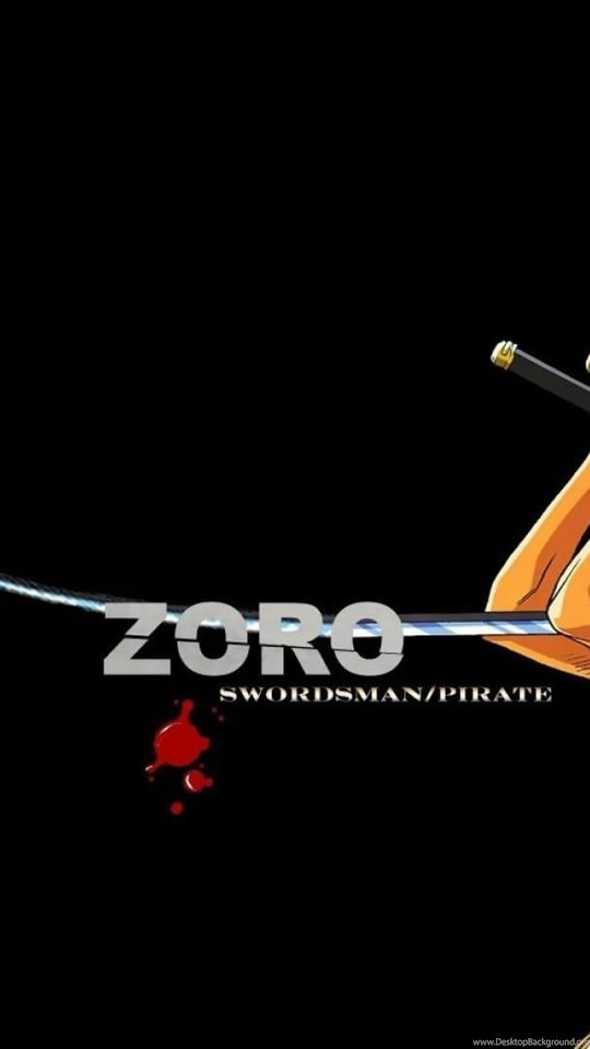 One Piece Zoro Wallpapers Hd Desktop Background