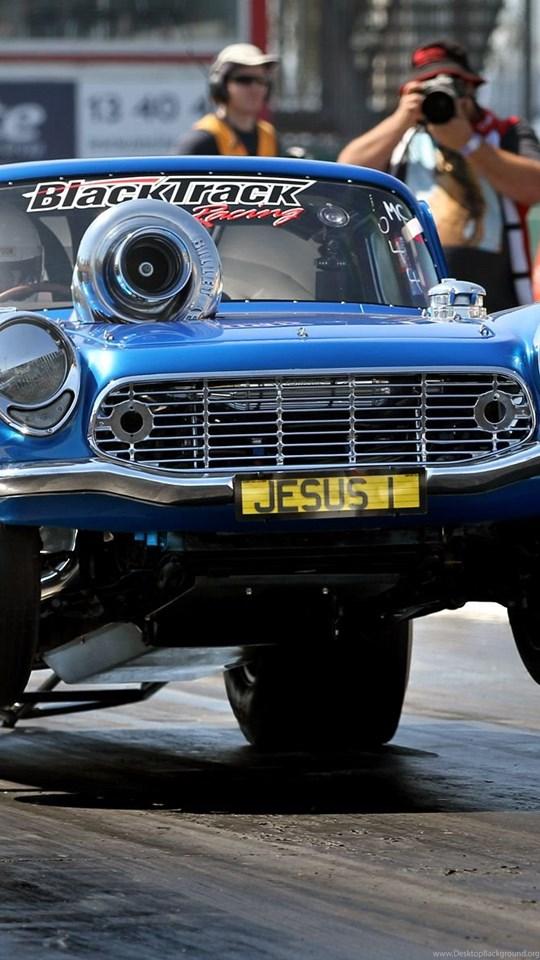 Drag Racing Race Car Track Wheelie Hot Rod Wallpapers