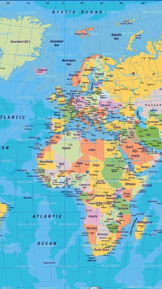 Hd world map download atozwallpapers desktop background mobile android tablet gumiabroncs Choice Image