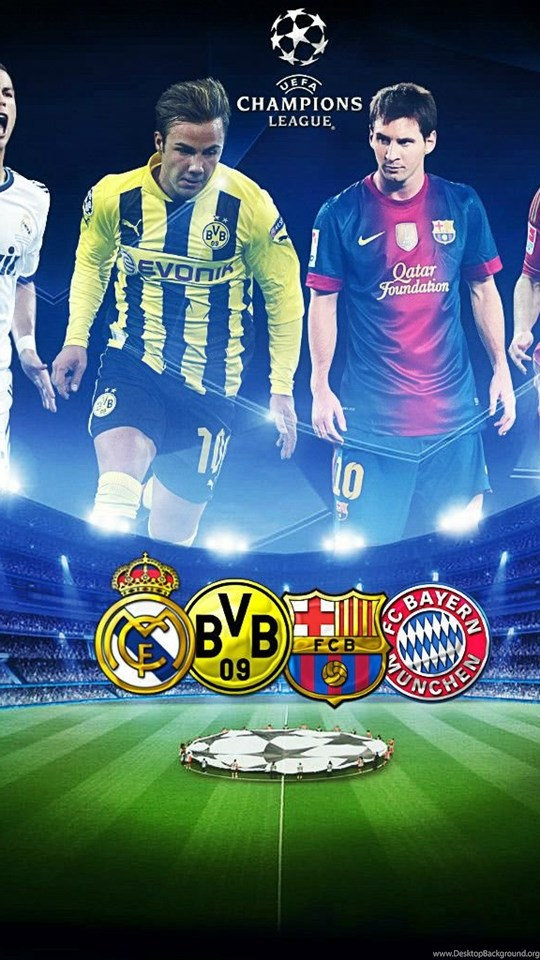 Uefa Champions League Logo Wallpapers Wallpaper  Desktop