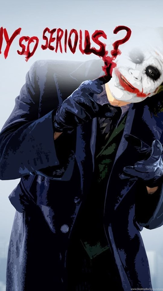Joker Why So Serious Wallpapers Cave Desktop Background