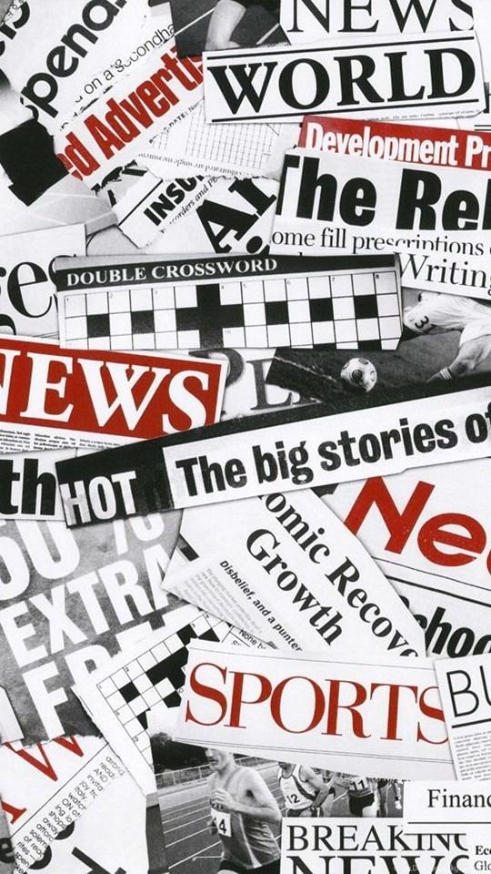 Buy Fleet Street Newspaper Wallpapers Black White Red Desktop
