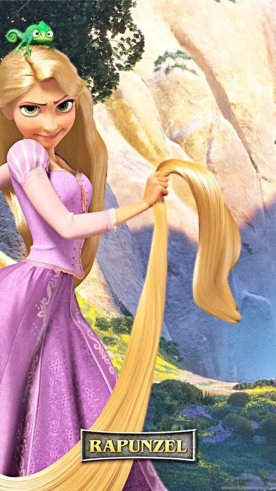 walt disney wallpapers princess rapunzel pascal walt disney