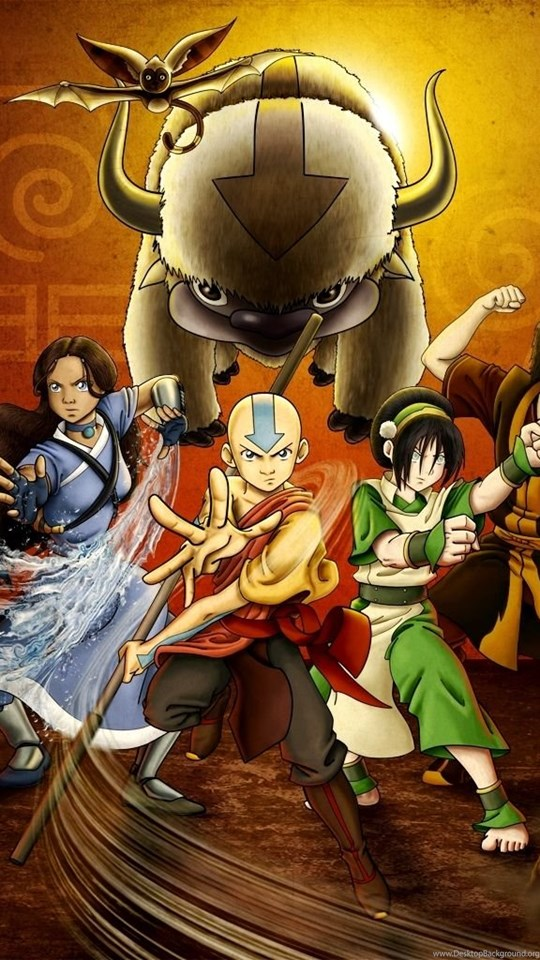 Wallpapers Avatar The Last Airbender Aang Air Appa Earth Fire Four