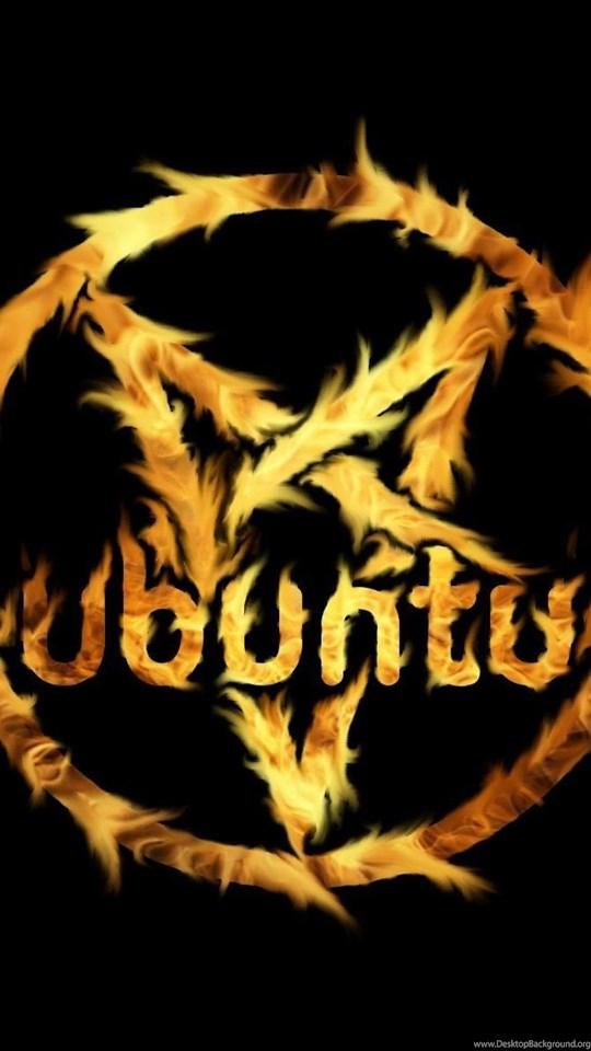Pentagram ubuntu satanic wallpapers desktop background android hd 540x960 360x640 voltagebd Image collections
