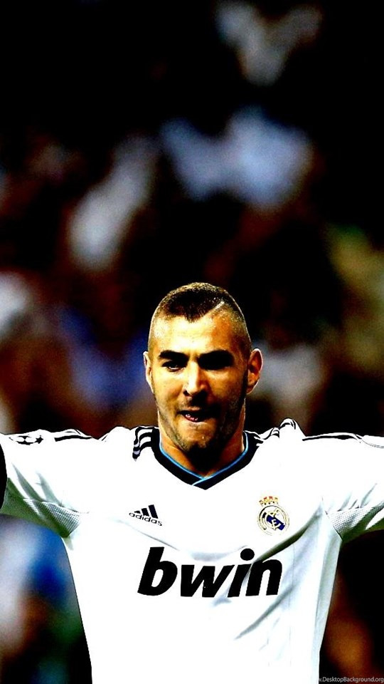 Karim Benzema Real Madrid Club Form Player Desktop Background
