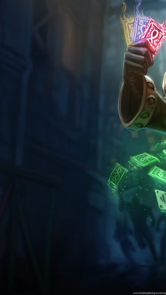 Twisted fate lol wallpapers l lol desktop android hd 540x960 360x640 voltagebd Images