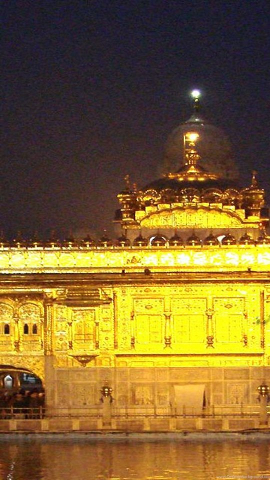 Sikh Wallpaper Hindu Wallpaper Golden Temple At Night Image