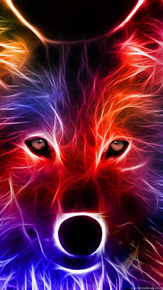 Neon Glowing Wolf Wallpapers 614 Free HD Wallpapers Stock